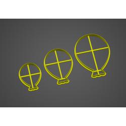 Balónky - sada 3 kusy č.1