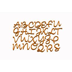 Abeceda velká písmena č.1