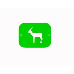 Antilopa - šablona č.2