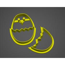 Velikonoční vajíčko s kuřátkem