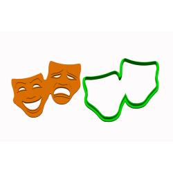 Maska šťastný a smutný -...