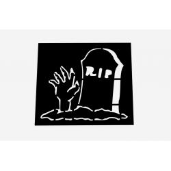 Šablona RIP s rukou