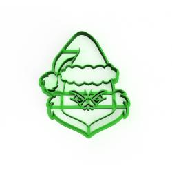Grinch s čepicí Santa