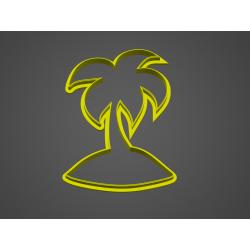 Palma na ostrově